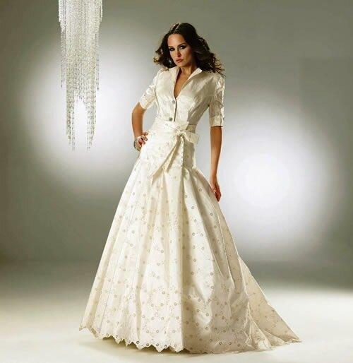 Vestidos de novia para disimular espalda ancha