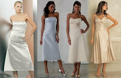 Vestidos madrina boda civil