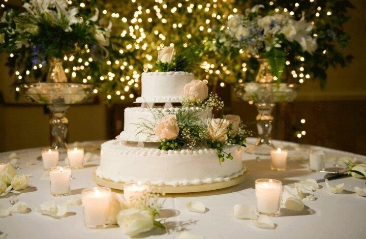 Adornos de mesa para boda vestidos de bodas for Decoracion 40 aniversario de bodas