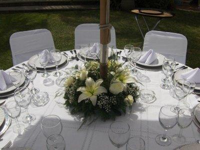 Adornos de mesa para boda vestidos de bodas for Adornos d mesa para boda