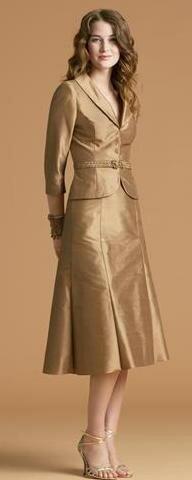 Los trajes de mujer para civil evolucionan