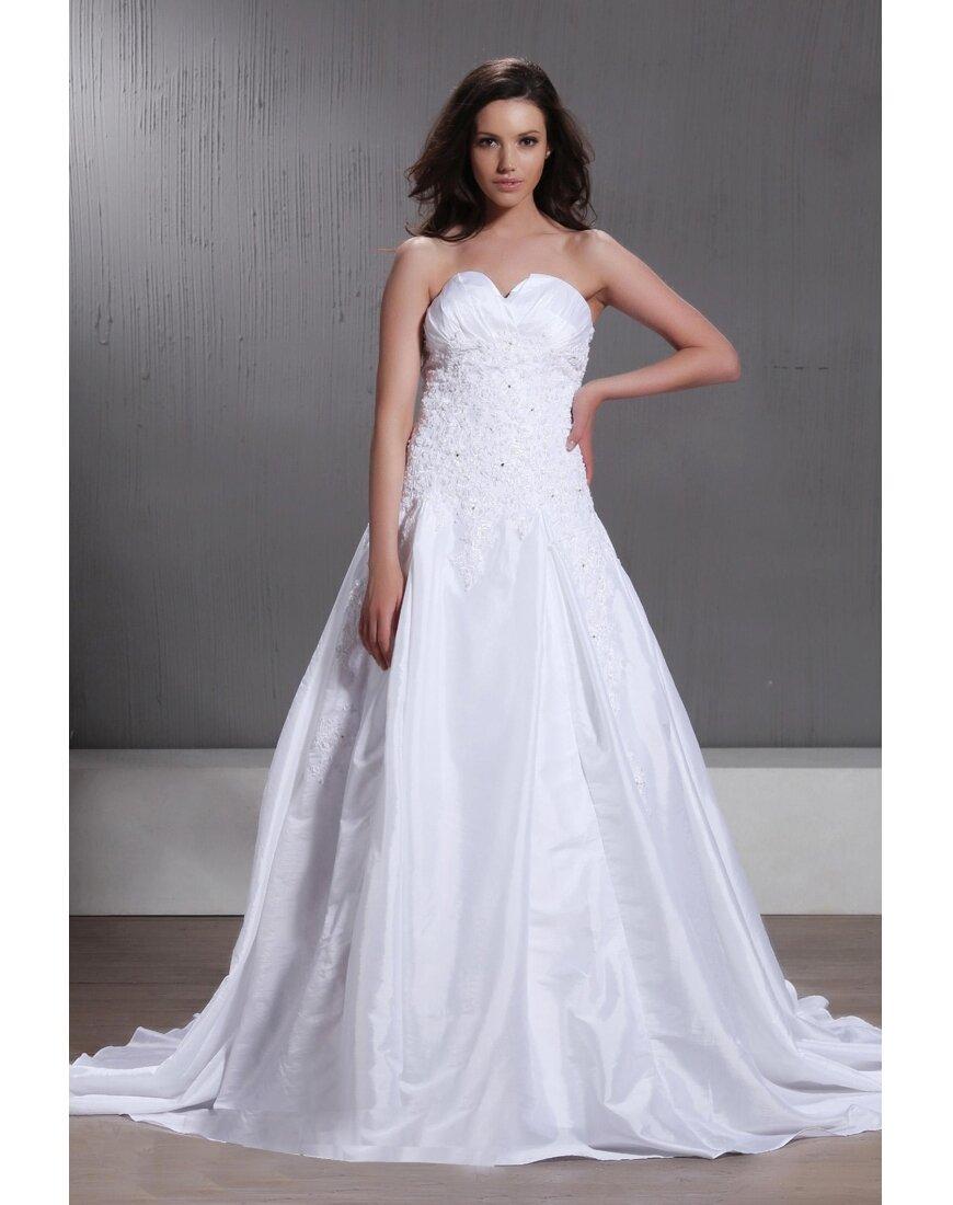 Vestidos de boda con corte de princesa y escote