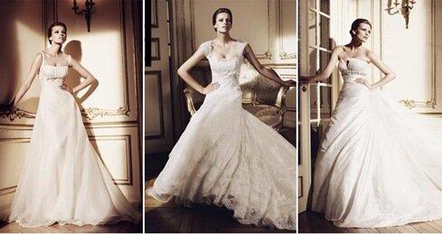 Vestidos de novia que realcen tu figura